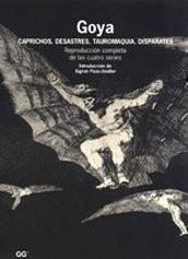 Goya Caprichos, Desastres, Tauromaquia, Disparates