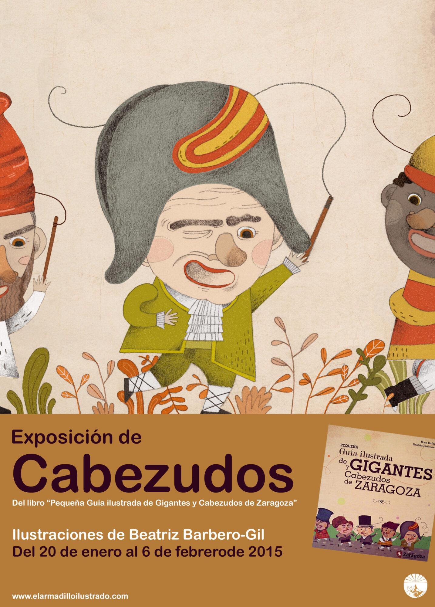cartel cabezudos expo